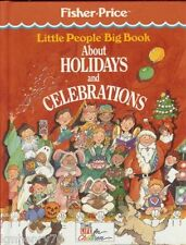 Little People Big Book About Holidays Time-Life Books HC Illust Free Ship