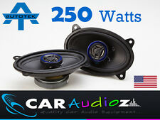 "Autotek 4x6"" 6x4"" New 2 way car audio door shelf speakers pair 250W Top quality"