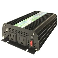 BRAND NEW PURE SINE WAVE POWER INVERTER 400/800 WATT 12V DC TO 120V AC!