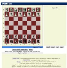 Webchess multi player website. 1 year hosting 30 GB. Select  your design