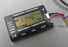 Lipo Life NiMH NICD Battery Pack Controller Checker Capacity Voltage Cell Meter