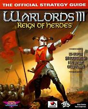 Warlords III: Reign of Heroes : The Official Strategy Guide by Rick Barba and...