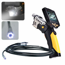 "Drain Pipe 3.5"" LCD Video Snake Camera Inspection Endoscope Scope Borescope HD"