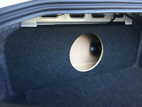 "2015+ Mustang - Ported / Vented Custom Sub Enclosure Subwoofer Box - (12"" Sub)"