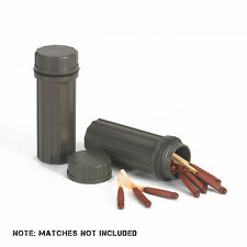 NDUR Waterproof Match Holder 2 Pack OD Military Tactical Fire Camping Army 21250