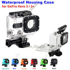 White Underwater Waterproof Diving Housing Case Cover For GoPro Hero 3&3+ Camera