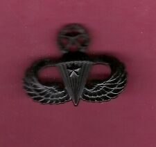 Master Airborne or Parachutist Combat subdued 1st Jump Badge