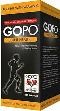 GOPO Joint Health Rose-Hip With Vitamin C 200 Capsules