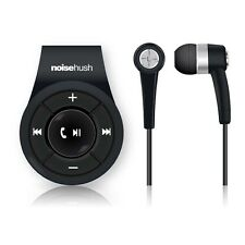 NS560 NOISEHUSH BLACK CLIP-ON BLUETOOTH WIRELESS HEADSET FOR ALL PHONES IPOD NEW
