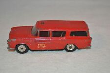 Dinky Toys 257 NASH RAMBLER Pompiers Fire Chief in excellent condition