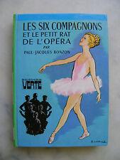Paul-Jacques BONZON - Les six compagnons et le petit rat de l'opéra