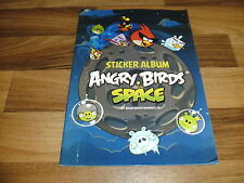 SAMMELBILDER/STICKER ALBUM:  ANGRY BIRDS SPACE