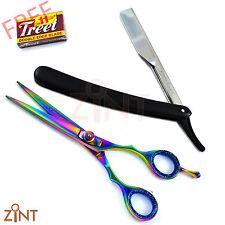 Barber Saloon Capelli Taglio Multi Scissor NERO rasoio da barba con libera 10 LAME