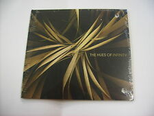 THE HUES OF INFINITY - CD PROMO DIGIPACK NEW SEALED 2015 - STEVE ROACH