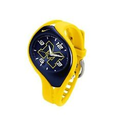 Nike Triax Blaze Junior NCAA University of Michigan Team Watch WD0069-201