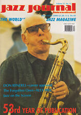 JAZZ JOURNAL MAGAZINE 2000 DEC DON RENDELL, ALEX HILL, TEX BENEKE, BUZZY DROOTIN