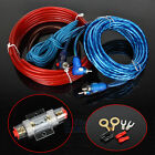 1500w Car Audio Subwoofer Sub Amplifier AMP RCA Wiring Kit Power Cable AGU FUSE