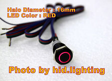 BMW E60 5 series Sport mode unlock cable wire pin with Red LED Button 16mm