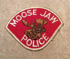 Ca Moose Jaw Canada Police Patch