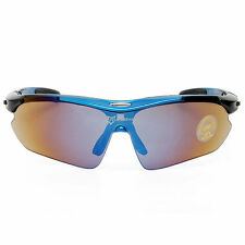 Rockbros Polarized Cycling Glasses Sunglasses Goggles Sports Glasses Blue New