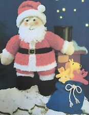Knitting Pattern for Father Christmas Santa DK toy Xmas