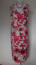 NEW with TAG  M&Co Floral Design Fully Lined Pencil Dress  20  Winter Sun ?