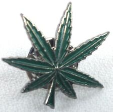 MARIJUANA - WEED - HEMP - POT - CANABIS - UK Imported Enamel Lapel Pin