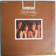 BREAD BABY I'M A WANT YOU 1972 UK GATEFOLD ELEKTRA RECS LP+LYRICS*A1B1 VGC VINYL