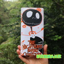 Top Sale The Nightmare Before Christmas Jack Leather Card Holder Purse Wallet