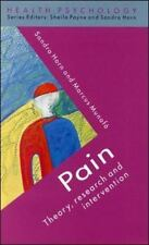 Health Psychology: Pain : Theory, Research and Intervention by Sandra Horn...