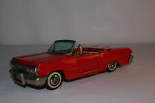 Haji, Made in Japan 1963 Chevrolet Impala Convertible Tin Friction Car, Original
