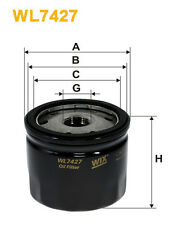 WIX WL7427 Car Oil Filter - Spin-On Replaces W79 PH9739 OC727