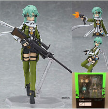 "Sword Art Online 2 SAO Gun Gale Online GGO Sinon Shino 5.6"" Action Figure w/ box"
