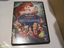 Little Mermaid Ariel's Beginning DVD GREAT CONDITION  with case