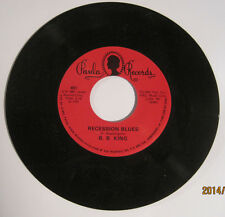 "B.B. King / ""T-Bone"" Walker - Paula Records Split 45rpm EX Cond."