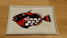 Fabienne Jouvin Paris Fish Rectangle Tray Plate #46 Lamotius Johannes