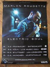 Marlon Roudette ELECTRIC SOUL TOUR CONCERTO MANIFESTO Concert Tour poster