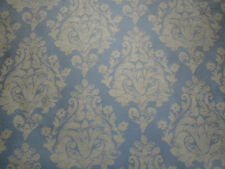 Sanderson Curtain Fabric ~ 'Siena Damask' 9.5 METRES Tinsel ~ Siena Collection