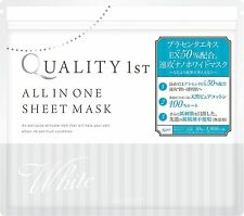 30 sheets all-in-one sheet mask white Skin Care Placenta extract Nano White