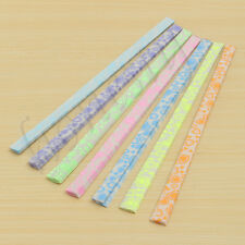 210Pcs 7 Colors Luminous Origami Lucky Star Paper Strip Folding Golw In The Dark
