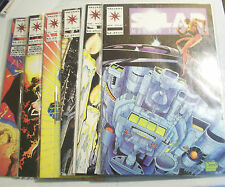 Lot Of 6 Solar Man Of The Atom #20-25