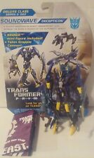 Transformers Prime Beast Hunters Soundwave with Cardback 100% Complete