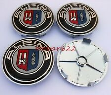 T 4PCS Wheel Center Hub Caps Emblem logo Badge 68mm Alpina t#359