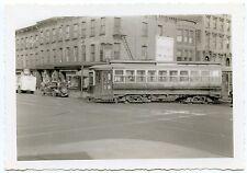 5D273 RP 1939 BROOKLYN & QUEENS TRANSIT NYC TROLLEY #2560 BROOKLYN