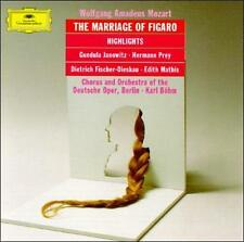Mozart: Le Nozze di Figaro (Highlights) (CD, May-1990, DG Deutsche Grammophon)