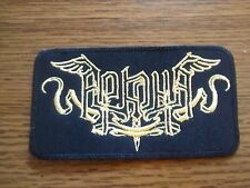 ARKONA,SEW ON GOLDEN EMBROIDERED PATCH