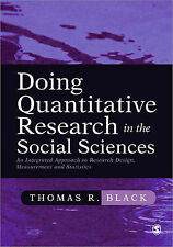 Doing Quantitative Research in the Social Sciences: An Integrated Approach to...