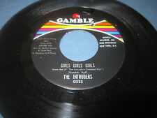 "The Intruders""So Glad Im Yours/Slow Drag""/45/"
