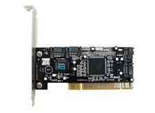 Chip SIL3114 PCI to 4 SATA Interfaces Expansion Card Support Low Profile Bracket