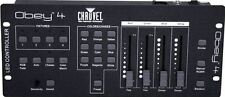 Chauvet Obey 4 Compact DMX-512 LED Wash Light Controller w/3 or 4 Channel Mode